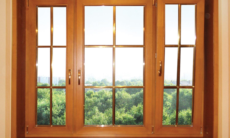 Окна из евробруса