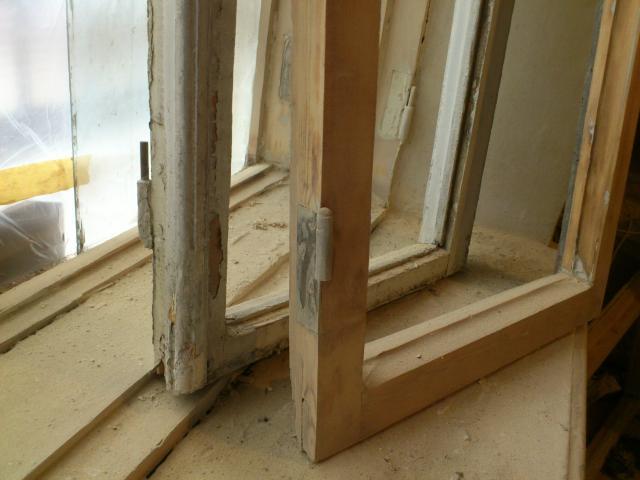 Восстановление деревянного окна